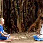 Meditation in Padmasana
